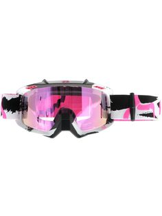 Fox Racing AIRSPC Goggle - Marz White/Pink Spark Lens