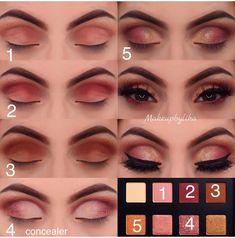 (notitle) - Makeup - Haare und Beauty - Make-up Makeup Goals, Makeup Inspo, Makeup Tips, Beauty Makeup, Makeup Ideas, Makeup Tutorials, Clown Makeup, Costume Makeup, Witch Makeup