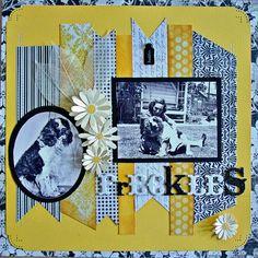 #papercraft #scrapbook #layout   Freckles - Scrapbook.com