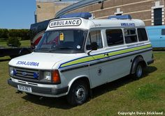 Ford Transit Ambulance. Another cool retro truck.