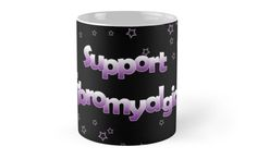 Support Fibromyalgia - Purple Stars by Hopasholic