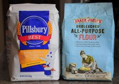 What is self-rising flour? you can make your own by combining 1 cup all purpose flour with 1 tsp baking powder and tsp salt Unbleached Flour, Sifted Flour, Baking Flour, Baking Tips, Baking Recipes, Snack Recipes, Tips And Tricks, Food Hacks, Food Tips