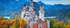 Neuschwanstein Castle in Bavaria is rumoured to have inspired Disney, Germany (Credit: Credit: Rudy Balasko/iStock)