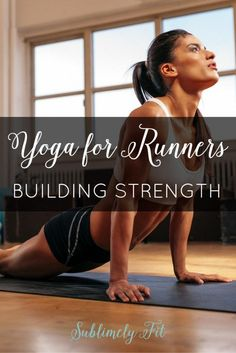 Yoga for Runners - Strength Building. How to build strength through yoga to help reduce your injury risk and to become a stronger runner. Bikram Yoga, Iyengar Yoga, How To Build Strength, Indian Yoga, Yoga For Runners, Different Types Of Yoga, Yoga Moves, Restorative Yoga, Half Marathon Training