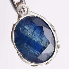 Saphir Diamant Anhänger