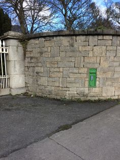 Irish post box at the chapelizod entrance of the Phoenix park Dublin Antique Mailbox, Salford, Post Box, Ancestry, Dublin, Manchester, Phoenix, Entrance, Irish