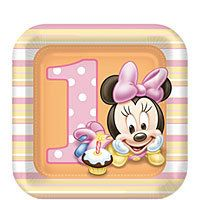 Minnie Mouse 1st Birthday Party Supplies-Party City
