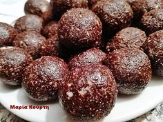 Stevia Recipes, Pureed Food Recipes, Sweets Recipes, Greek Recipes, Snack Recipes, Snacks, Vegan Sweets, Healthy Sweets, Low Carb Desserts