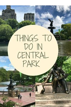 Things to do in Central Park, NYC