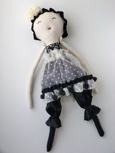 Cloth Doll, eco friendly toy, soft doll