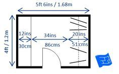 Walk In Closet With Hanging E And Shelf Minimum Size Click Through To