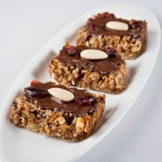 granola bars are filled with all the leftover dried fruits & nuts ...