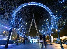 London Eye In Blue :)