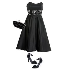 Accesorios para Vestidos de Fiesta Negros Strapless - Para Más Información Ingresa en: http://vestidosdenochecortos.com/accesorios-para-vestidos-de-fiesta-negros-strapless/