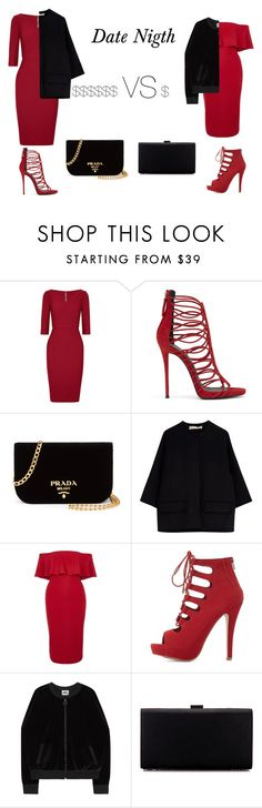 """""""look 10"""" by cawdii on Polyvore featuring Roland Mouret, Prada, Marni, River Island and Delicious"""
