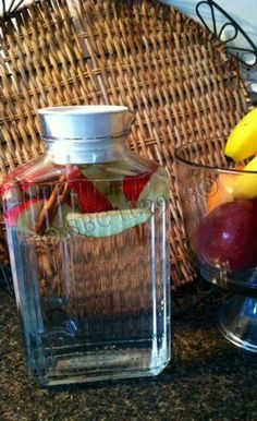 Dr Oz apple cinnamon water