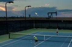 Bush Tennis Center Midland, Tex.