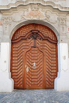 ♅ Detailed Doors to Drool Over ♅  art photographs of door knockers, hardware & portals - Prague, Czech Republic