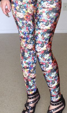 How I Roll Dice Leggings - Sexism Is Over