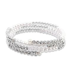 The Promise - Wrapped in Crystal and Pearls Bracelet    #Jewelry