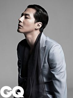 Actor Jo In Sung posed for mens fashion magazine GQ for the first time since being discharged from the Korean military (Air Actor Jo In Sung poses for & Korea& Korean Face, Korean Men, Asian Men, Asian Guys, Actors Male, Asian Actors, Korean Actors, Gq Mens Style, Korea University
