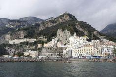 Blick auf Amalfi - Roadtrip durch Italien