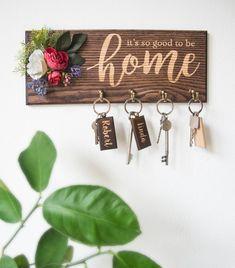Key Rack Wall Key Holder Farmhouse Key Hook 7th 5th 3rd 1st | Etsy