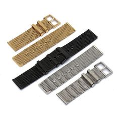 C, 24mm Black Silver Gold Stainless Steel Mesh Pin Buckle Watch Band: Bid: 17,24€ Buynow Price 17,24€ Remaining 09 dias 03 hrs 24mm Black…