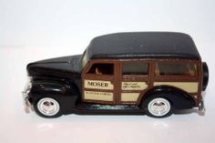 ERTL 1940 FORD WOODY STATION WAGON MOSER DIE CAST 1/43 SCALE