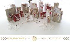 qu'on ouvre la première case du calendrier de l'Avent !   Et celui d' Emilie Burkhalter vous a beaucoup plu sur le salon CSF           prod... Christmas Cards, Christmas Decorations, Xmas, Holiday Decor, Scrapbooking, Graphic, Home Deco, Paper Crafts, Csf
