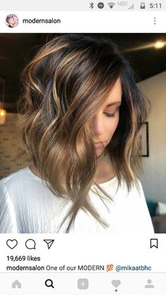 Summer cut and color