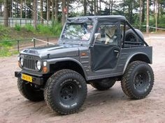 Resultado de imagen para suzuki lj 80 off road Jimny Suzuki, Suzuki Vitara 4x4, Samurai, 4x4 Off Road, Mini Trucks, Cool Trucks, Suzuki Sj 410, Quad, Jeep 4x4
