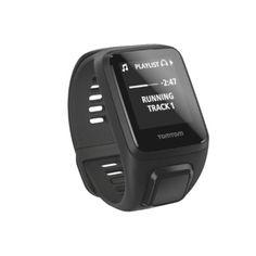 TomTom Spark 3 Cardio + Music Bundle GPS Fitness Watch, Large, Black