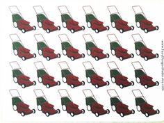 Lawn Mower Planner Stickers by FairyDesignsStudio on Etsy https://www.etsy.com/listing/273329418/lawn-mower-planner-stickers