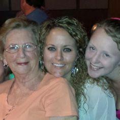 Aunt Stella, Chrissy and Nicole