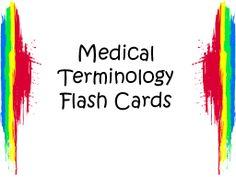 medical terminology | Free Medical Terminology Flash Cards © Katrena