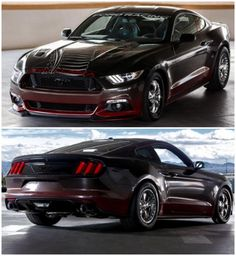 King Cobra Mustang - Ford Racing's first performance package for the 2015 Mustang. This is INCREDIBLE!  #spon #autoawesome