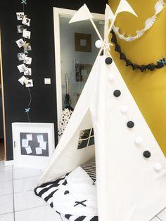 Kids Teepee tent MIDI size Moozle teepee blogged via Unicorns and Fairytales blog