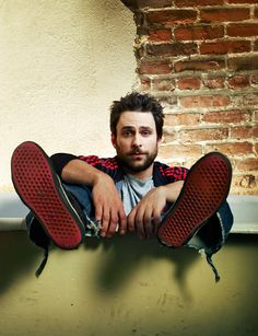 Charlie Day in It's Always Sunny in Philadelphia promotional photography by Joey Lawrence, 2012.