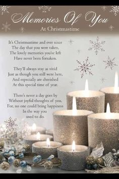 Image result for poem for the holidays for people who have lost someone