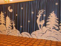 Новорічні декорації для садочку та школи | Ідеї декору