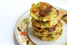 Samosa patties. Potato, carrot, cloves, frozen peas, v. little flour....