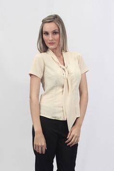Camisa Social Gola Laço - Uniforme profissional BH