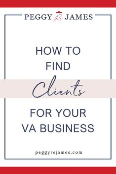 If you're struggling to find clients for your virtual assistant business, come learn seven strategies to finding clients for your online business. From market research, to reaching out to ideal clients, social media marketing for virtual assistants and more. Business Planning, Business Tips, Online Marketing, Social Media Marketing, Virtual Assistant Services, Successful Online Businesses, Starting Your Own Business, Work From Home Jobs, Make More Money