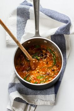 Quick Dinner: Loaded Soup   edibleperspective.com