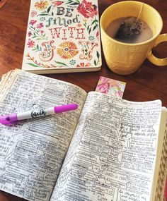 ʚ pin - lloverrose ɞ Bible Study Journal, Scripture Study, Bible Art, Bible Verses, Bible Notes, Word Of God, Thy Word, Christian Encouragement, Study Notes