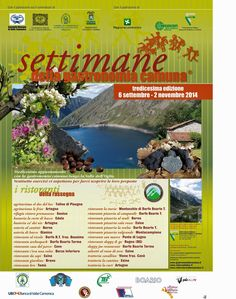 Settimane della Gastronomia Camuna dal 6 Settembre al 2 Novembre Val Camonica