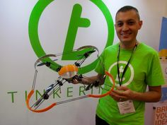 Tinkerine's Drones Are Engineered for Learning 3D Printing #3DPrinting
