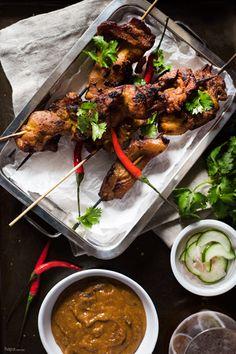 Chicken Satay - Hapa Nom Nom