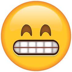 Download Grinning Emoji with Smiling Eyes